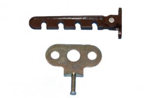 Гребенка ограничитель открывания окон коричневая не окрашенная
