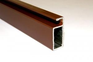 Профиль 0,9 (коричневый) цена 40 руб.  за пог.м купить со скидкой
