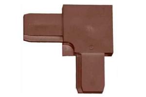 Уголок (коричневый) цена 6 руб.  за шт купить со скидкой