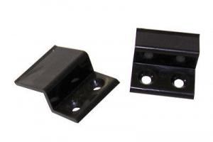 Крепление Z-образное большое пластик (коричневое) цена 6 руб.  за шт купить со скидкой