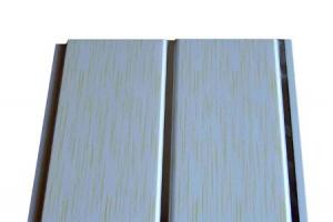 Двухсекционные панели ПВХ с хромированной полосой 2700x200x8 3 цвета