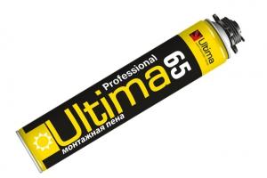 Пена монтажная ULTIMA  65 l (летняя) цена  руб.  за шт купить со скидкой