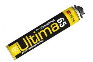 Пена монтажная ULTIMA 65 l (зимняя) цена 238 руб.  за шт купить со скидкой