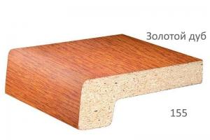 Подоконник Werzalit золотой дуб 300 мм цена 1800 руб. за пог. м купить со скидкой