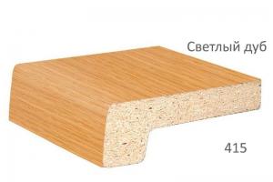 Подоконник Werzalit светлый дуб 600 мм цена 3600 руб. за пог. м. купить со скидкой