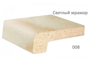 Подоконник Werzalit светлый мрамор 150 мм