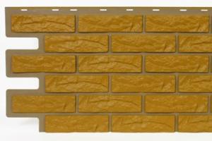 Фасадные панели Велбин (кирпич бежевый) цена 450 руб.  за шт. купить со скидкой