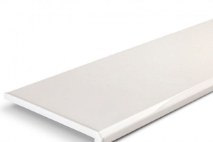 Подоконник Danke Lucido Bianco 700 мм (2 капиноса) цена 3030 руб. за пог. м купить со скидкой
