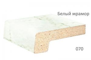 Подоконник Werzalit белый мрамор 400 мм цена 2400 руб. за пог. м. купить со скидкой