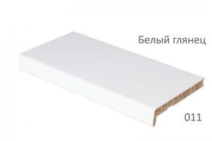 Подоконники Crystalit белый глянец 500 мм (2 капиноса) цена 1900 руб. за пог. м купить со скидкой