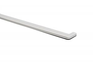 Подоконники Crystalit белый глянец  заглушка цена 50 руб.  за пара купить со скидкой