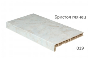 Подоконники (Кристалит) Crystalit бристол глянец 500 мм ( 2 капиноса) цена 1900 руб. за пог. м купить со скидкой