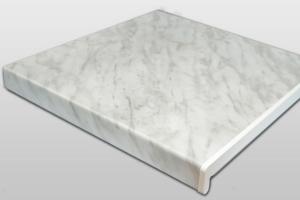 Подоконники пластиковые ПВХ «МастерПласт» серый мрамор 700 мм (2 капиноса) цена 840 руб. за пог. м купить со скидкой