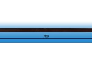Заглушка подоконника пвх «Витраж» тёмный дуб оригинальная цена 120 руб.  за шт купить со скидкой