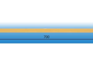 Заглушка подоконника пвх «Витраж» натуральный дуб оригинальная цена 120 руб.  за шт купить со скидкой