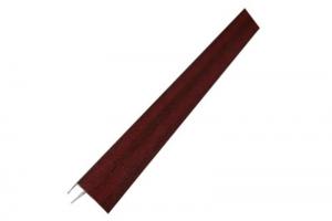 F-профиль 45 мм ламинированный для откоса цвет махагон цена 220 руб.  за шт купить со скидкой