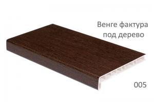 Подоконники Crystalit венге фактура под дерево 250 мм цена 950 руб. за пог. м. купить со скидкой