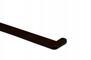 Заглушка подоконника Crystalit (Венге) цена 80 руб.  за пара купить со скидкой