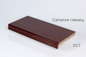 Подоконники Crystalit сапэлли глянец 500 мм ( 2 капиноса) цена 1900 руб. за пог. м купить со скидкой