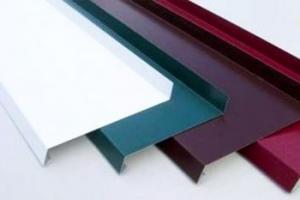 Отлив металлический 200 мм белый цена 300 руб. за шт купить со скидкой