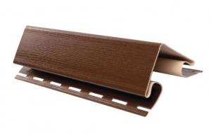 Аксессуары к сайдингу (коричневые) внешний угол