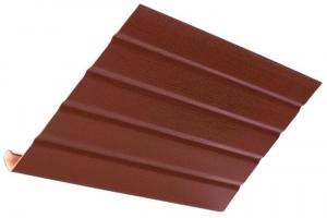 Аксессуары к сайдингу (коричневые) J-фаска