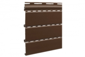 Аксессуары к сайдингу (коричневые) Софит сплошной S=0,93 m2