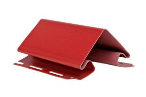 Аксессуары к сайдингу (красный, дуб светлый) внешний угол цена 507 руб.  за шт купить со скидкой