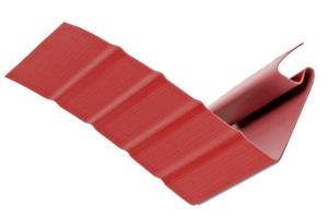 Аксессуары к сайдингу (красный, дуб светлый) - околооконный профиль цена 507 руб.  за шт купить со скидкой