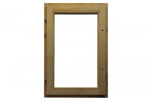Окно деревянное ОСУ 135x100 без стекла