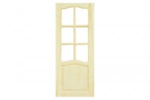 Дверь филенчатая сосна 200x90 под стекло