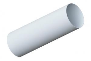 Труба водосточная белая 3,0 м и 4,0 м цена 125 руб.  за пог. м купить со скидкой